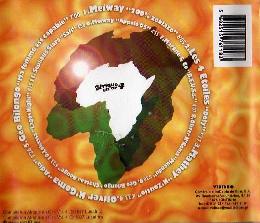 AFRIQUE EN OR VOL.4