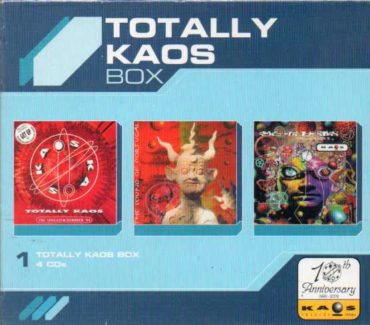TOTALLY KAOS BOX 3 cds