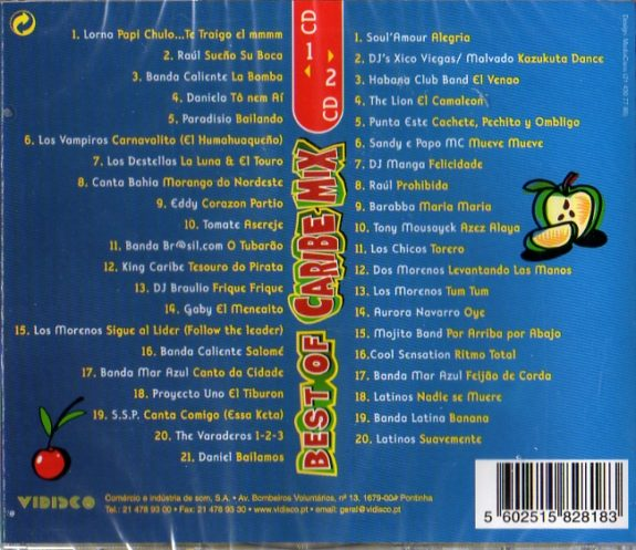 BEST OF CARIBE MIX 2 Cds