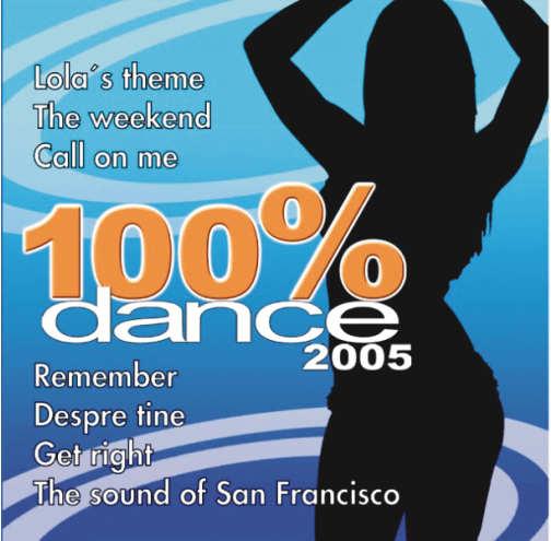 Vários 100% Dance 2005