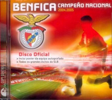 BENFICA CAMPEÃO NACIONAL 2004/2005