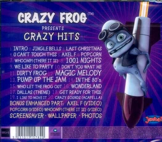 Crazy Frog Presents Crazy Hits