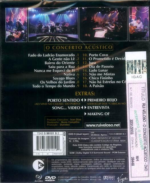 O Concerto Acústico.