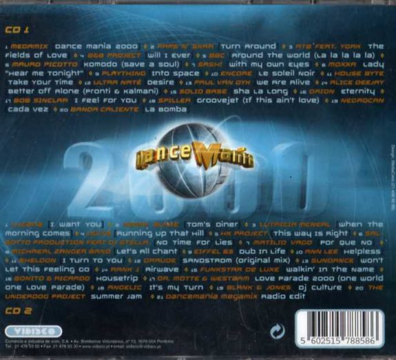 DANCE MANIA 2000 (2CD)