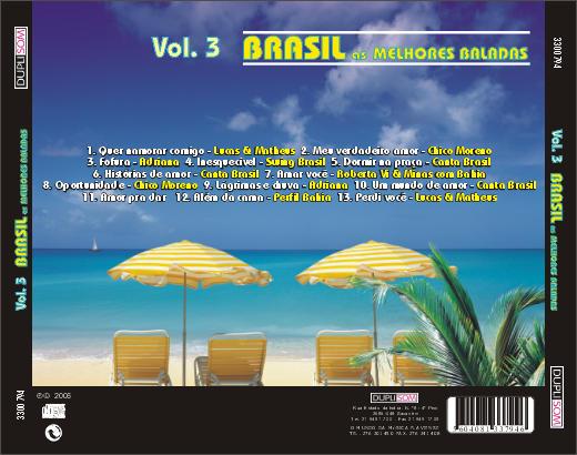 Brasil – As melhores baladas vol. 3