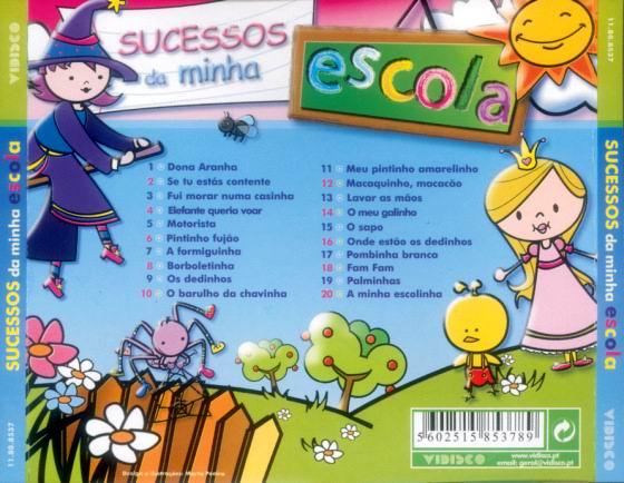 Sucessos da Minha Escola CD