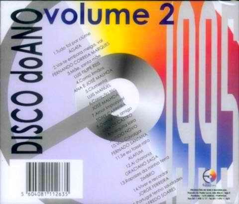 Disco do ano 95 vol 2