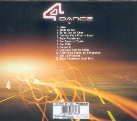 4 DANCE-Tudo Aconteceu