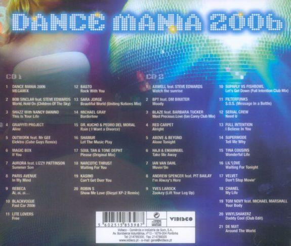 DANCE MANIA 2006
