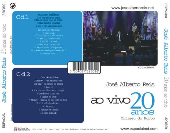 20 Anos ao vivo no Coliseu-cd