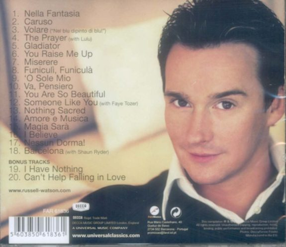 Russell watson - The Very Best Of