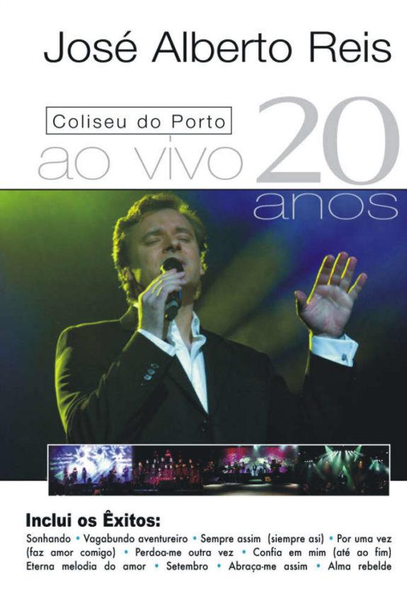 20 anos ao vivo no Coliseu - DVD