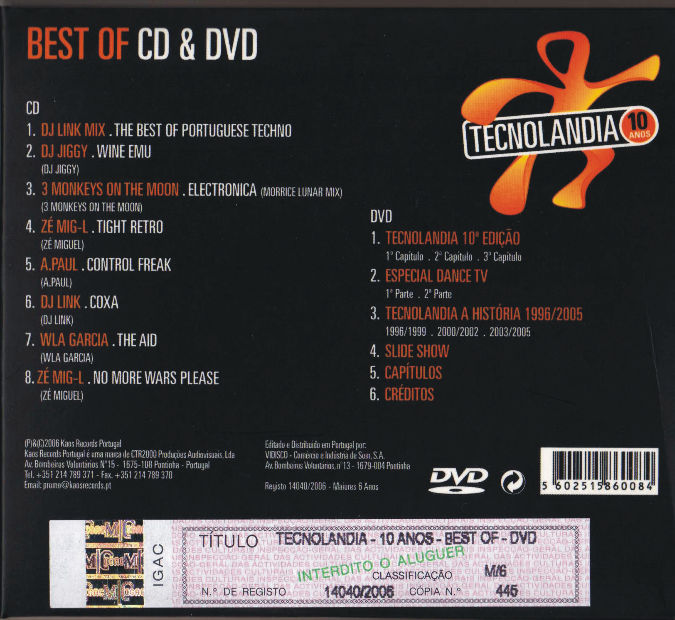 TECNOLANDIA 10 ANOS - BEST OF