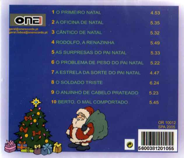 Contos Infantis de Natal CD