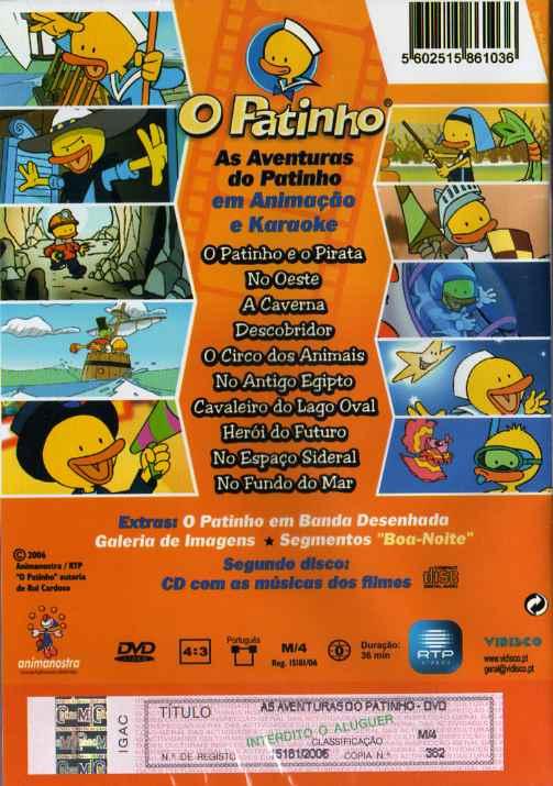 As aventuras do patinho (DVD + CD)