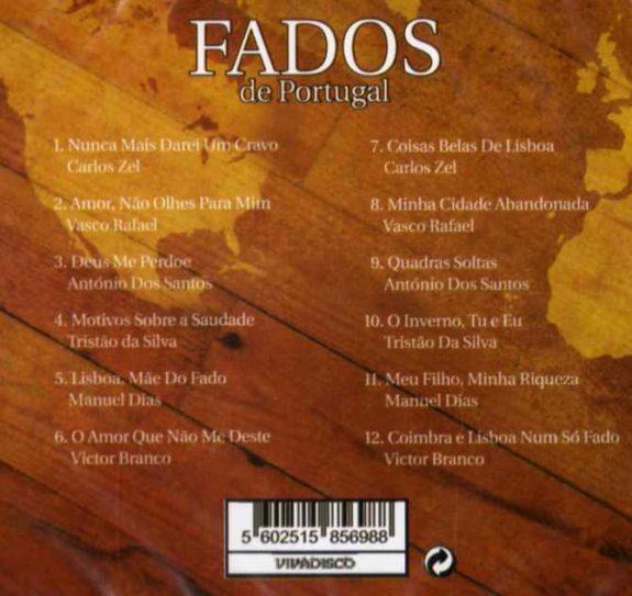 FADOS DE PORTUGAL