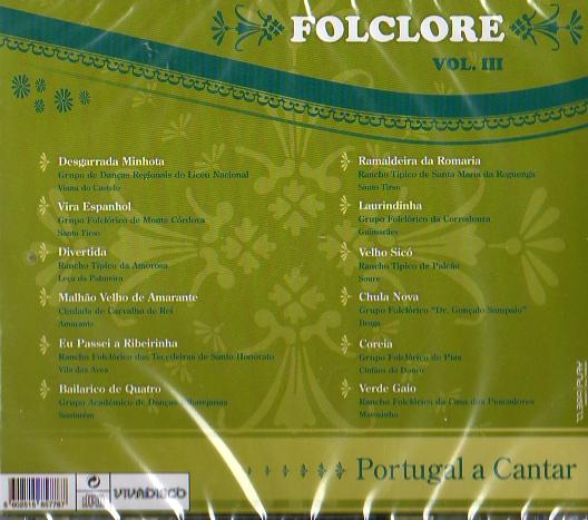 PORTUGAL A CANTAR VOL.III