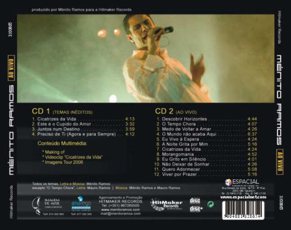 Ao vivo CD (2)