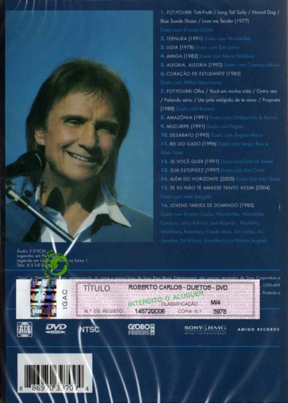 Duetos-DVD