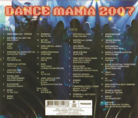 DANCE MANIA 2007