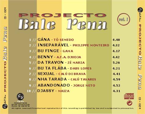 Projecto Bale Pena Vol. 1