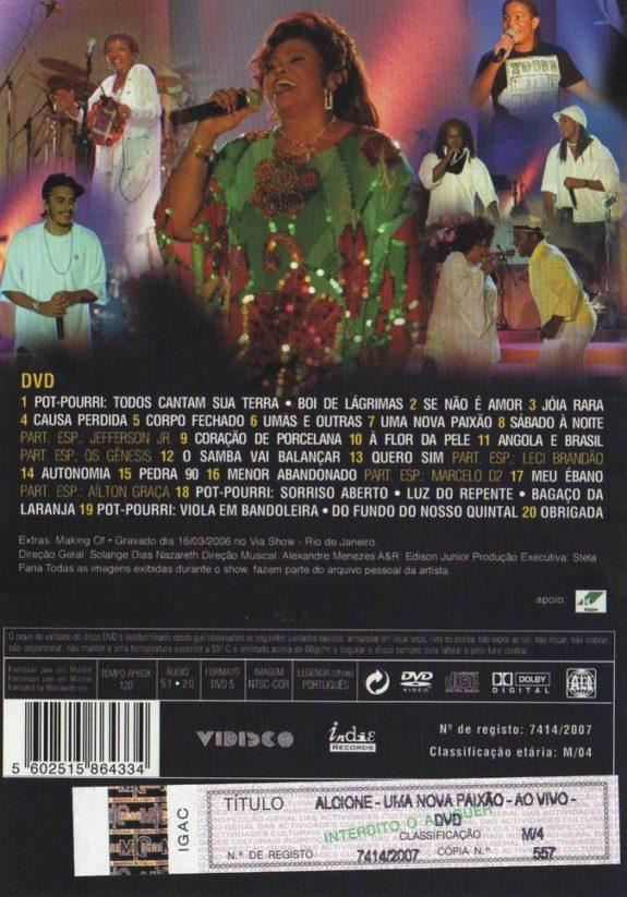 UMA NOVA PAIXÃO – AO VIVO DVD