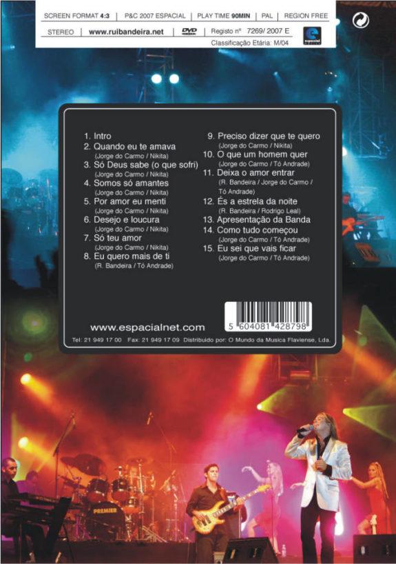 Rui Bandeira ao Vivo-DVD