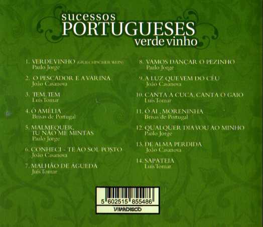 Sucessos Portugueses Verde Vinho