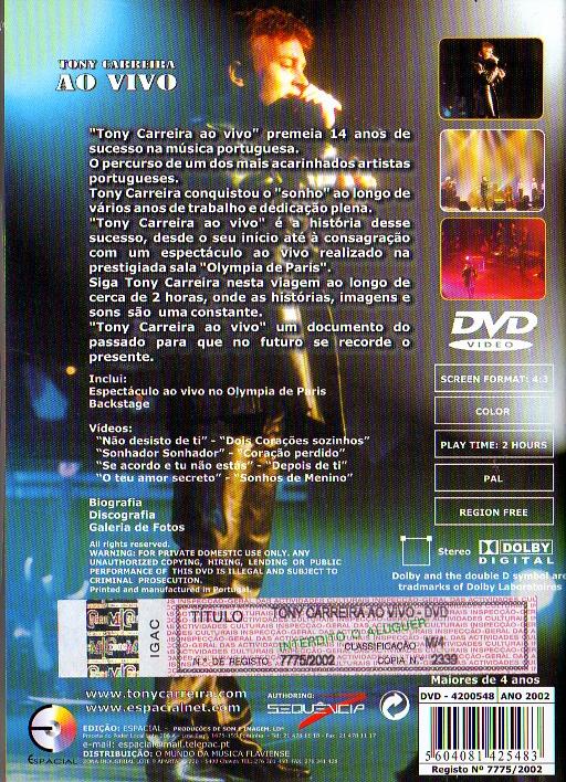 Ao Vivo - DVD