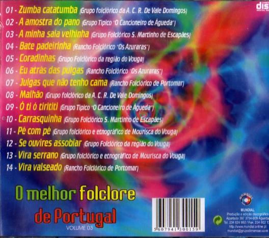 O Melhor Folclore de Portugal-vol.3