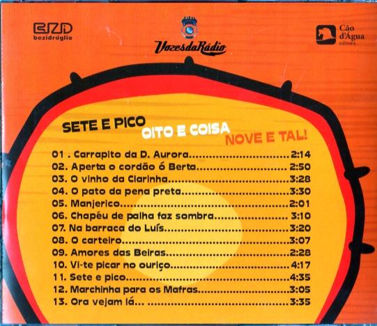 Vozes da Rádio e amigos cantam Conjunto de António Mafra