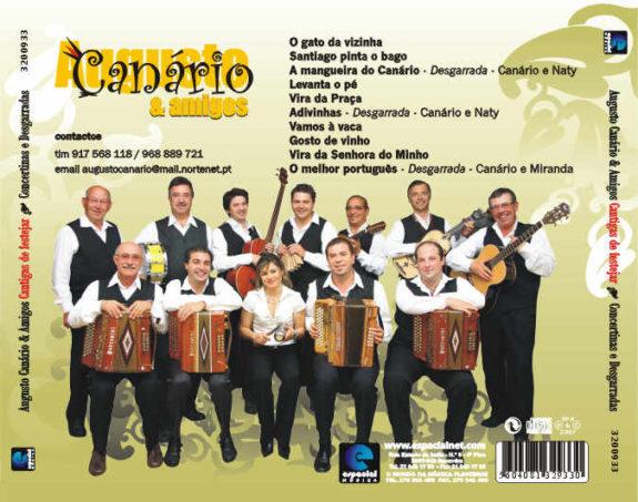 Cantigas de Festejar - Concertinas e Desgarradas