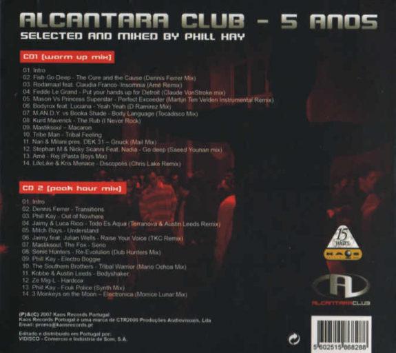 ALCÂNTARA CLUB – 5 ANOS