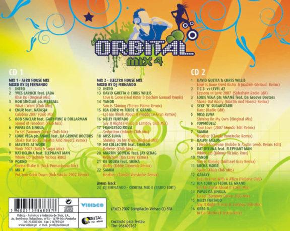 Orbital Mix 4 - Mixed By DJ Fernando