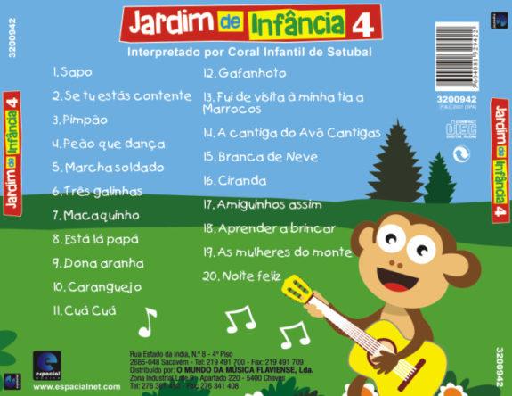 Jardim de Infância vol. 4 CD