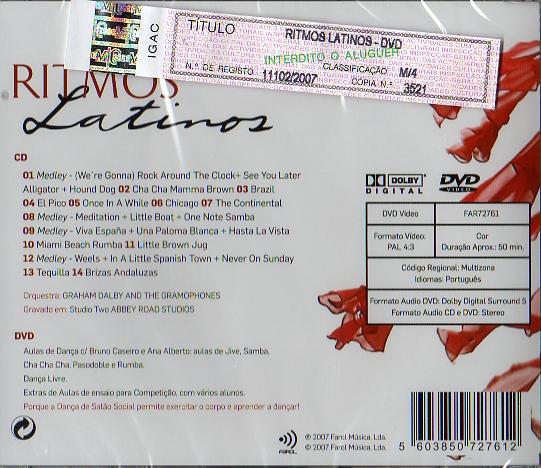Ritmos Latinos CD + DVD