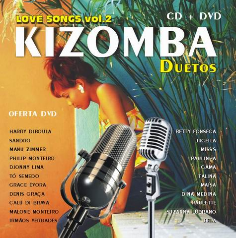 Kizomba duetos CD+DVD