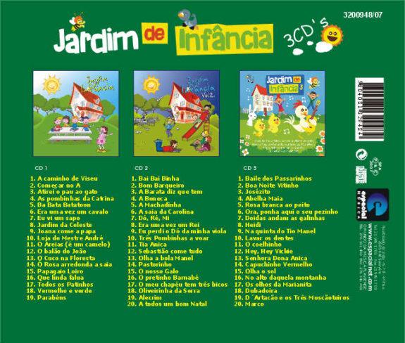 Jardim de Infância (Pack 3 cds)