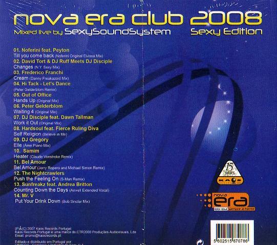NOVA ERA CLUB 2008