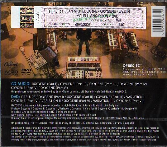 Oxigene CD+DVD