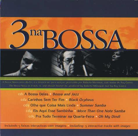 3 na Bossa - 5 cds