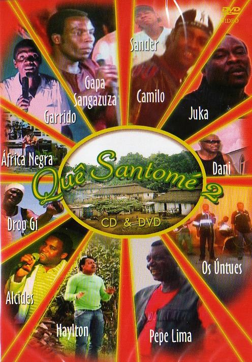 Quê Santomé vol2 CD + DVD