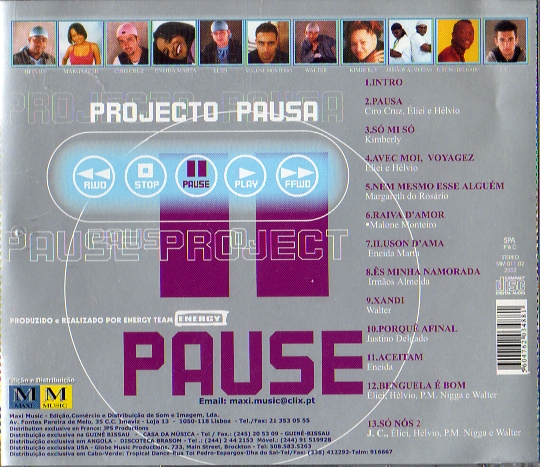 Projecto Pausa