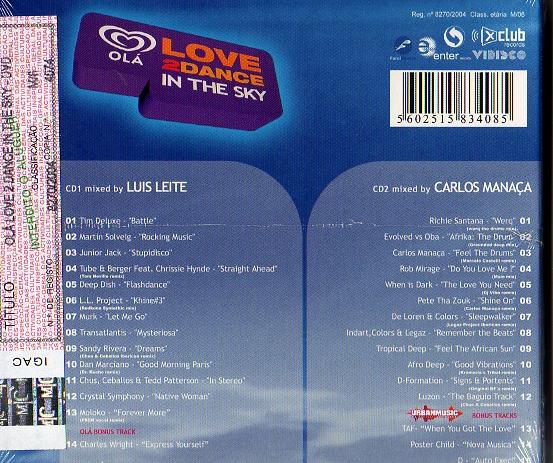 Olá Love2Dance in the sky