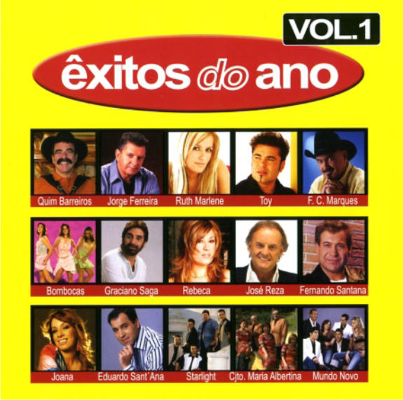 Exitos do Ano - Vol. 1