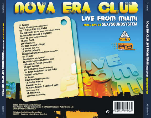 Nova Era Club Live From Miami
