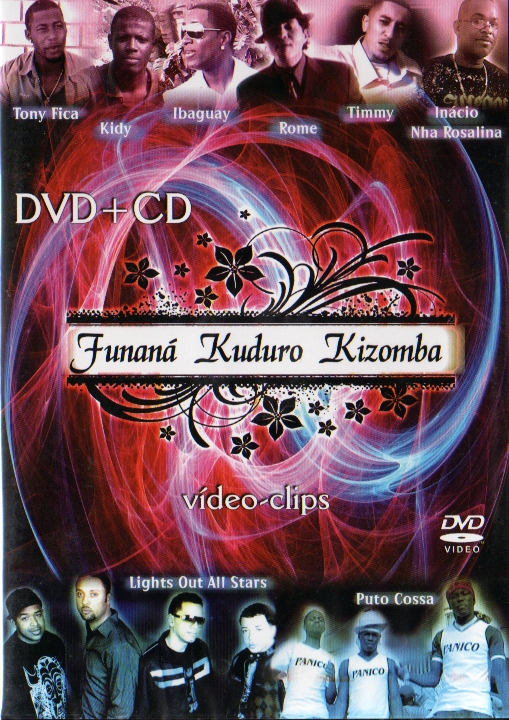 Funaná Kuduro Kizomba - CD + DVD