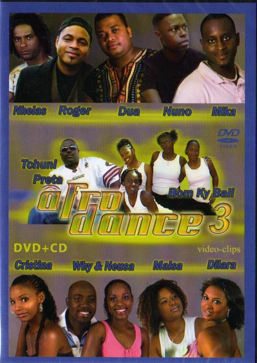 Afro Dance 3 - CD + DVD