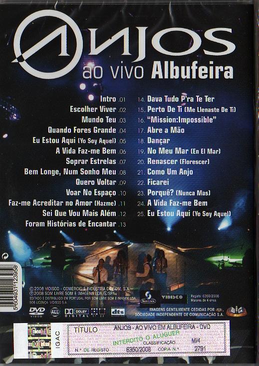 Ao Vivo em Albufeira DVD