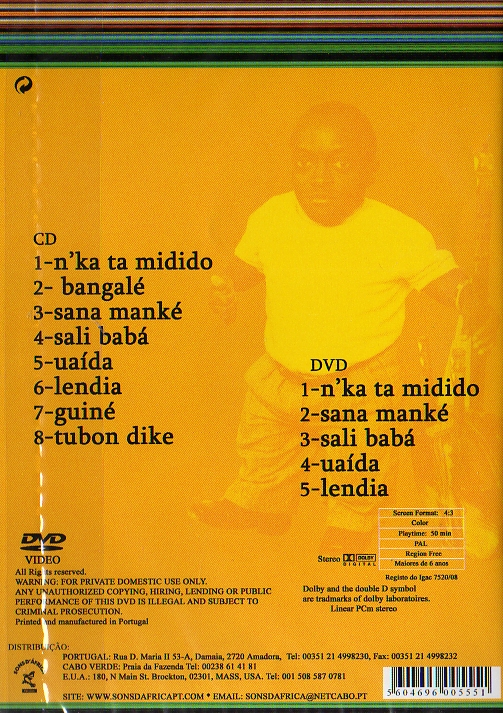 N Ka Ta Midido DVD+CD